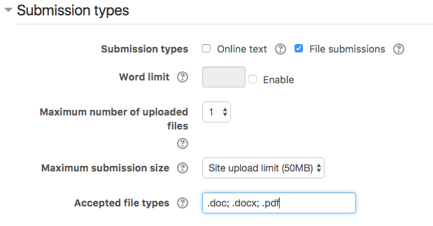 how to upload pdf file on moodle