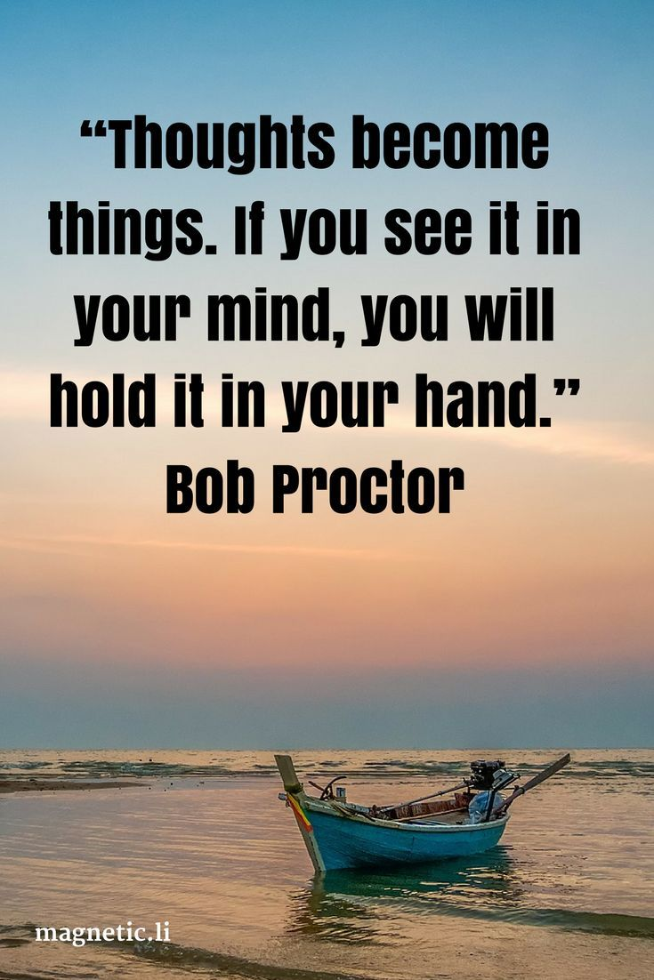 thoughts are things bob proctor pdf