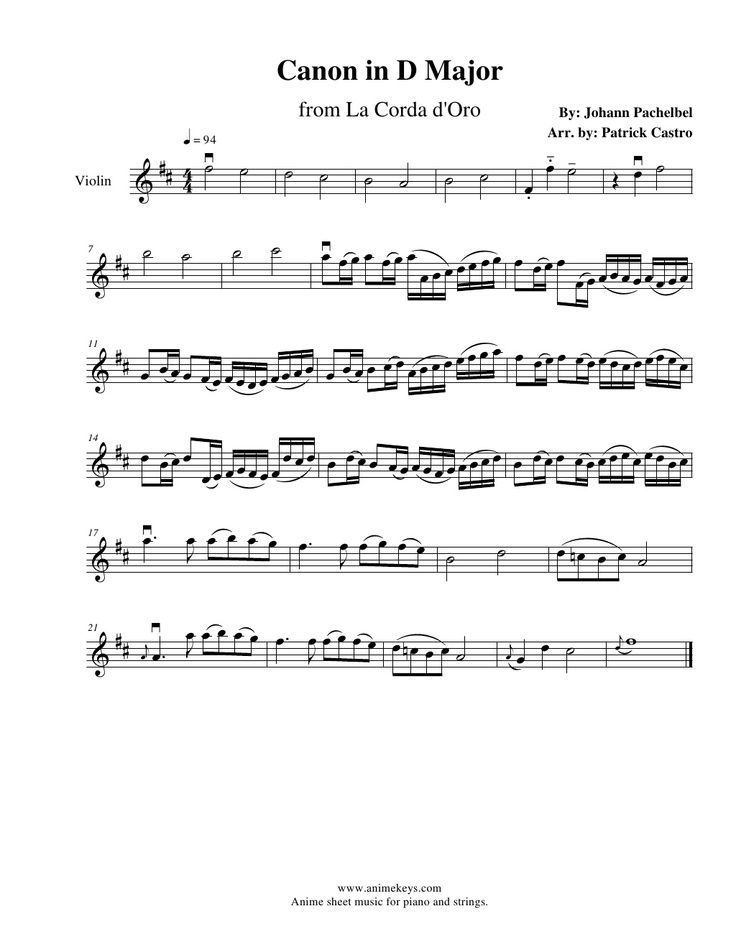 canon in d major piano and violin sheet music pdf