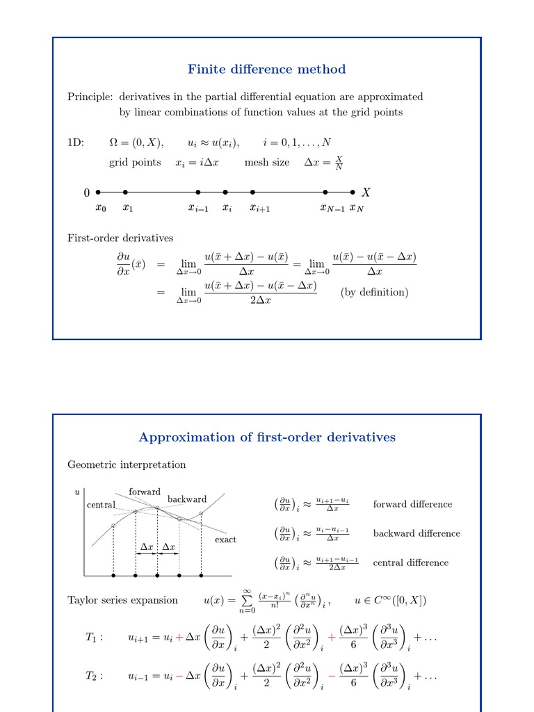 numerical partial differential equations finite difference methods thomas pdf