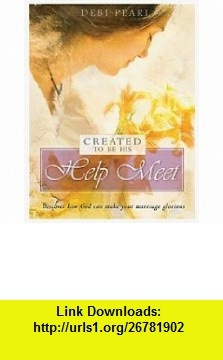 created to be his help meet pdf download