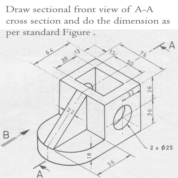 sectional orthographic projection problems and solutions pdf