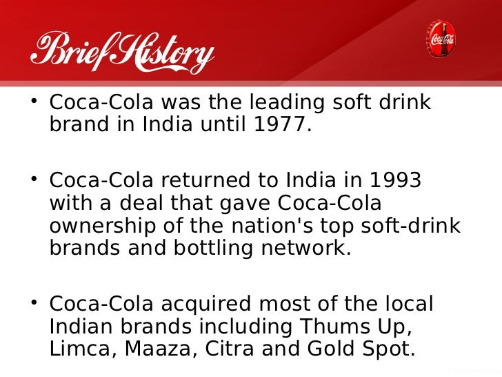research paper on coca cola company pdf