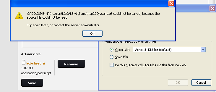 comments not saving in pdf acrobat