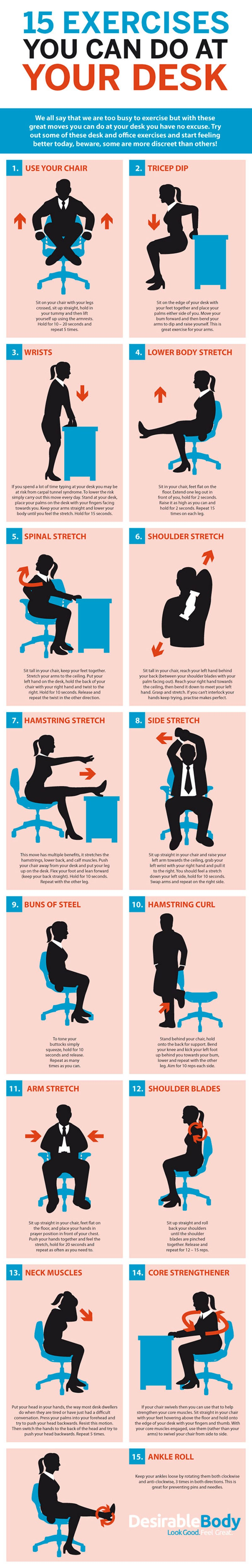 stretches at your desk pdf