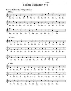 easy music theory for middle school pdf