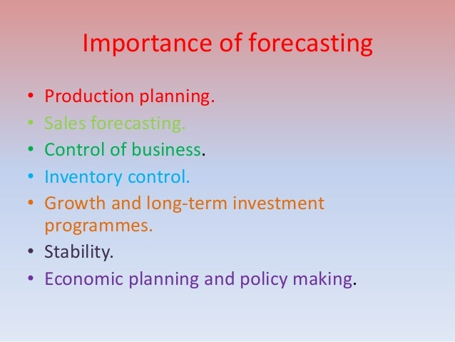 importance of production planning and control pdf