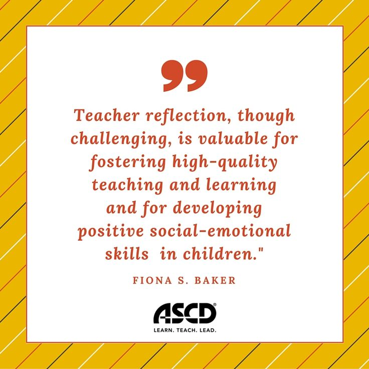 reflective practice in teaching pdf