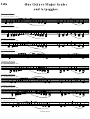 scales and arpeggios for trombone pdf